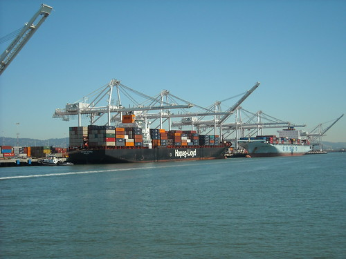 Container Ships @ Port of Oakland