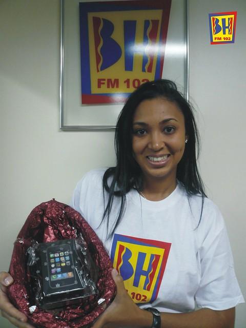 Ganhadora da promoção Páscoa BH FM