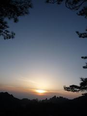 Huangshan China 中國 黃山