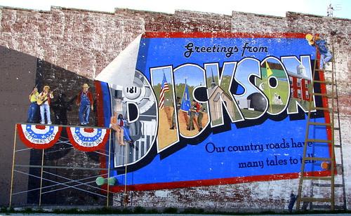 Dickson, TN Mural