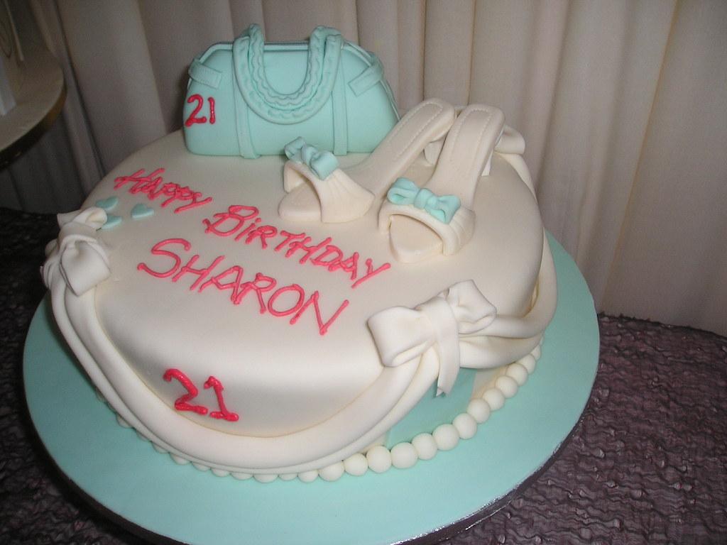 Handbags And Shoes Birthday Cake