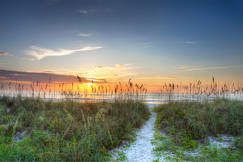 ocean vacation beach beautiful sunrise sand florida dunes atlantic 2009 pontevedra hdr seaoats cokin canoneos30d fatwallet ndgrad canonefs1755mmf28isusm canonef70200mmf4lusm colorphotoaward motleypixel royniswanger southjacksonville