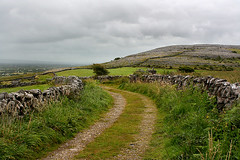 Road through the Burren