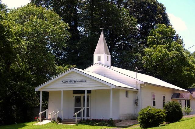 Pleasant Valley Baptist Church Near Suches Georgia