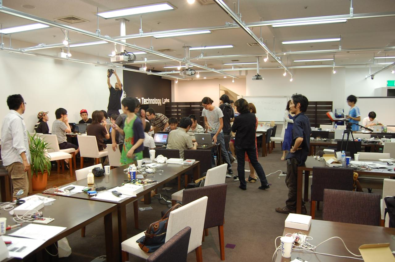 BODYHACK Workshop in Recruit MTL Cafe Ginza