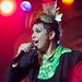 Small photo of Tomasina performs at the Tomorrowland Terrace