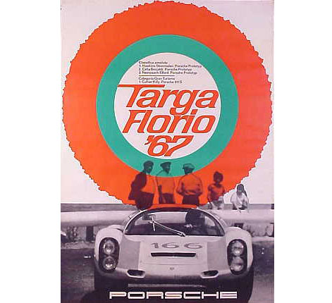 Porsche Vintage posters