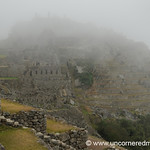 Foggy Morning at Machu Picchu - Peru