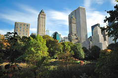 Southeast view, Central Park, NYC