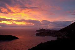 Sunset Dubrovnik 4