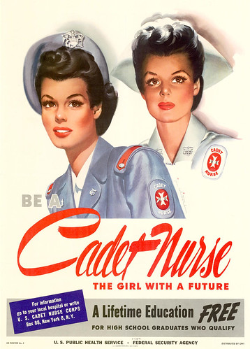 1944--cadet-nurse---Jon-Whitcomb by x-ray delta one
