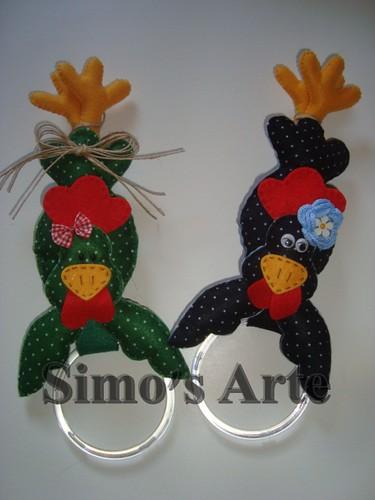 Porta pano galinha by Artes by Simo's®