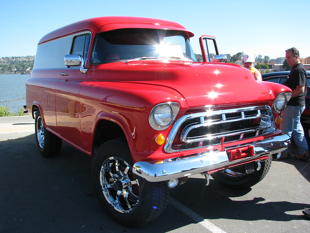 56 Chevy Truck 4x4 For Sale