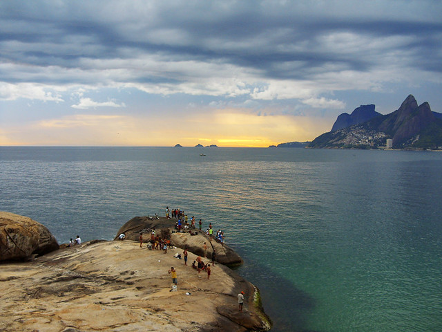 Pedra do Arpoador