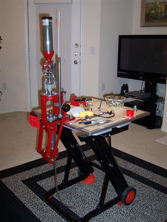 Any ideas for a portable/collapsible reloading bench ...  Portable Reloading Table