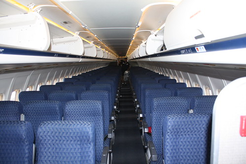 American Airlines MD-83 cabin