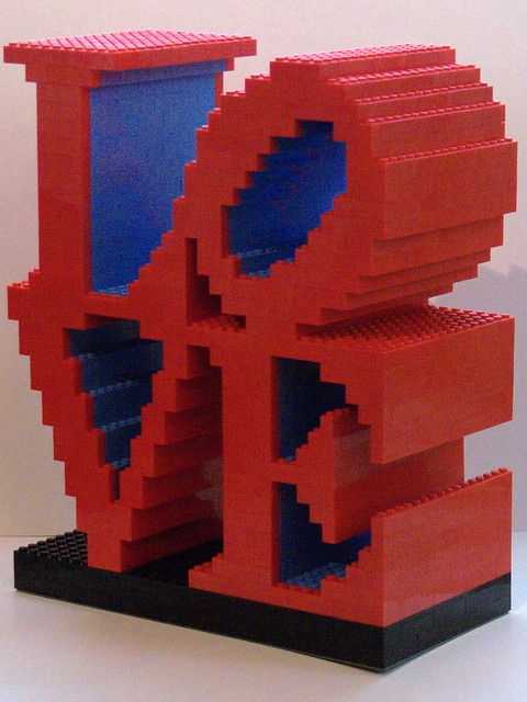 "Robert Indiana ""LOVE"" Sculpture"