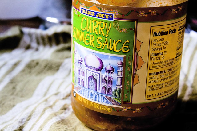 Trader joe 39 s curry simmer sauce flickr photo sharing for Trader joe s fish sauce