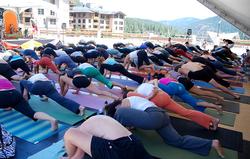 Yoga at Wanderlust