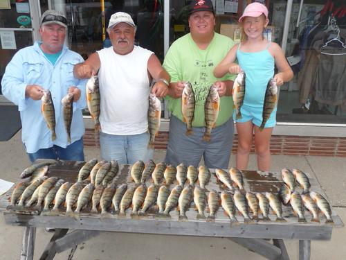 Lake vermilion fishing report june 2011 for Odnr fishing report