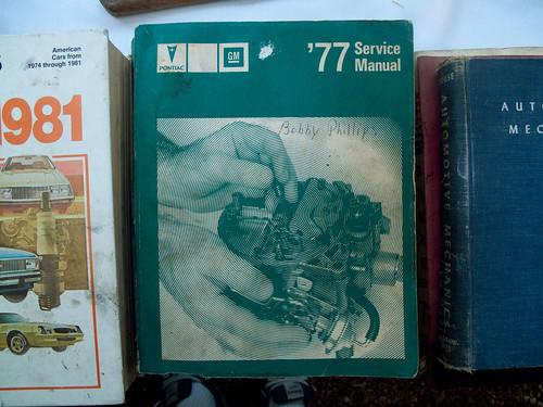'77 GM Service Manual.