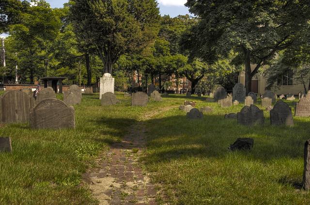 Old Burying Ground, Harvard Square