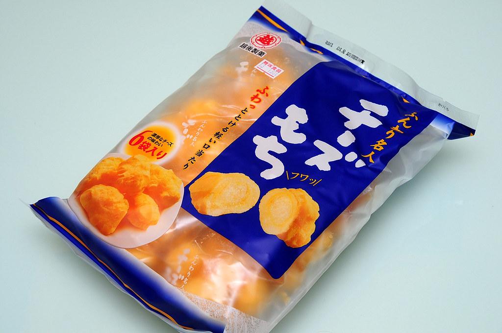 好吃的日本零食