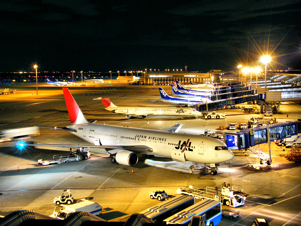 JAL & ANA - Chubu International Airport