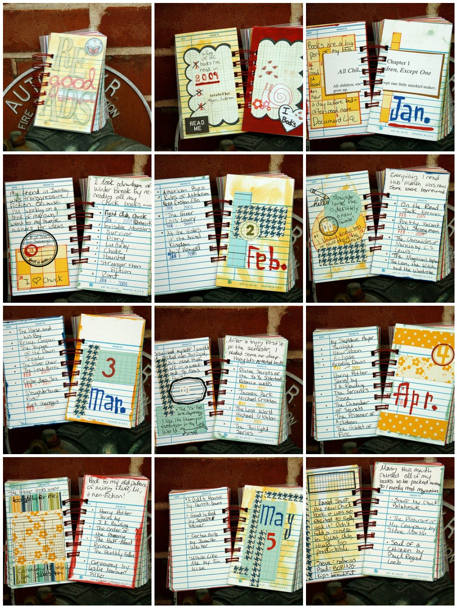 Good Reads Mini Book by Megan Anderson