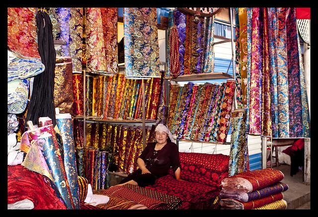 Silk Road Sunday Market Kashgar, Xinjiang