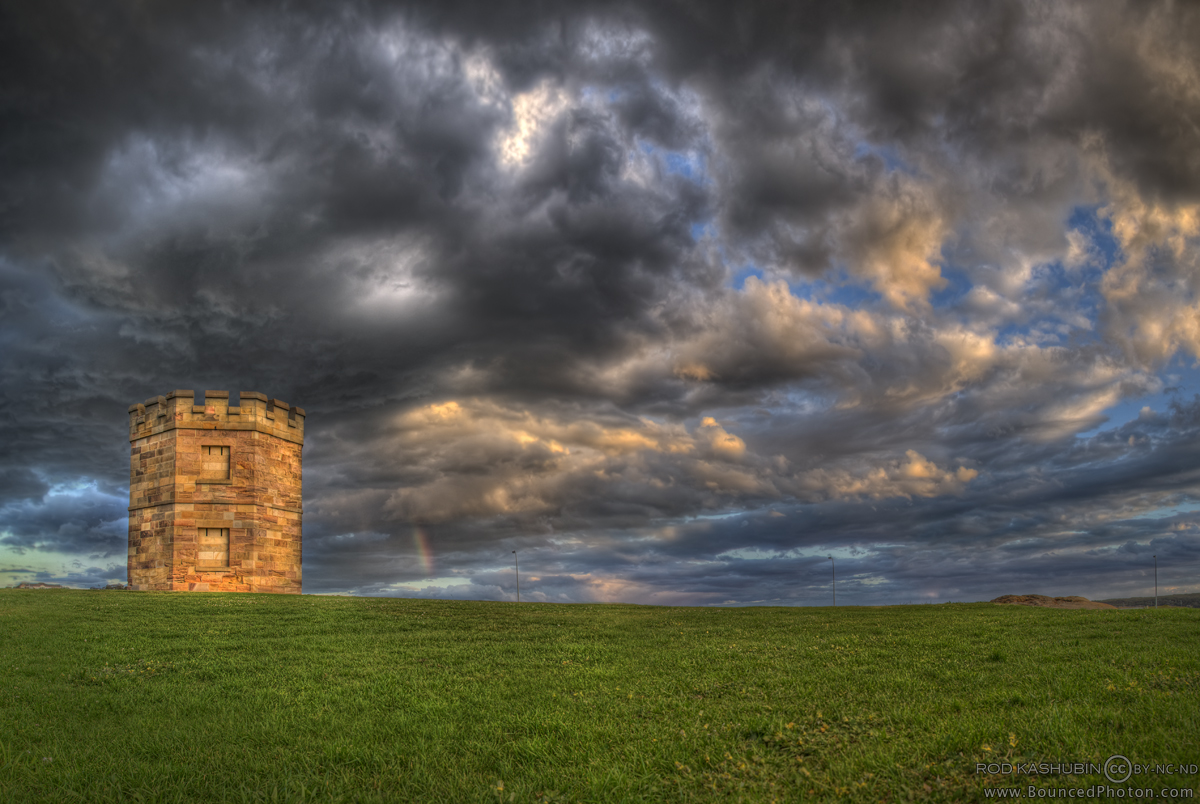 The Watchtower at La Perouse by BouncedPhoton