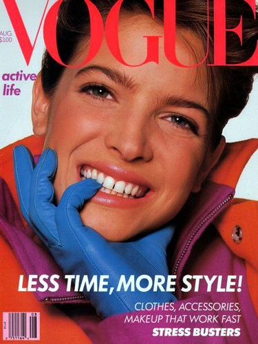 Stephanie Seymour Vogue Magazine by Biilboard Hot 100