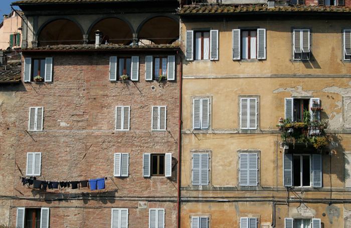 Ventanas de Siena