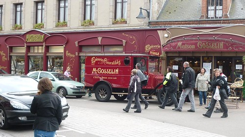 Monsieur Gosselin was busy as usual