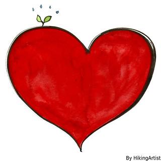 heart-green illustration