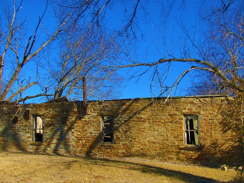 abandoned stone chatauqua decay kansas smalltown