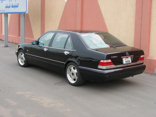 MercedesBenz S600L 97 W140