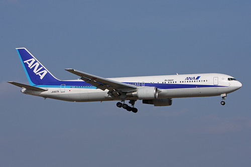 ANA (Air Japan)   B767-381(ER)   JA607A