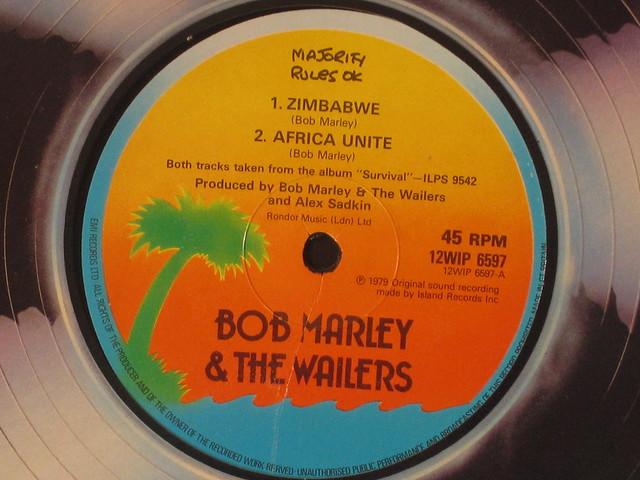 BOB MARLEY  ZIMBABWE