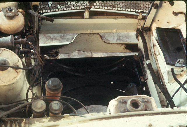 Mazda R100 Engine Compartment Empty | Flickr - Photo Sharing!