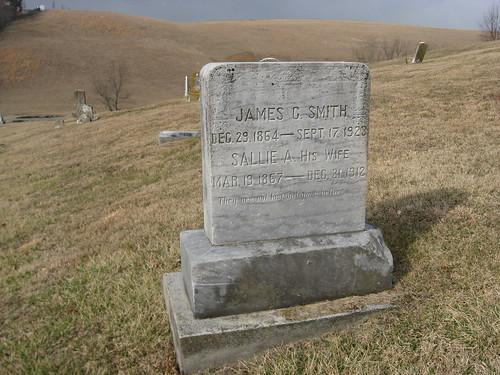 cemetery virginia headstone va 2009 appalachia appalachianmountains sulphursprings