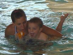 Niall's Swim Lesson