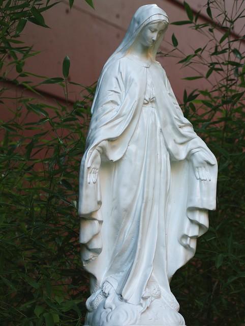 virgin mary statue flickr photo sharing