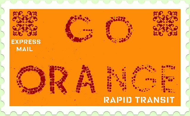 Go Orange Express Mail | Flickr - Photo Sharing!
