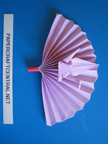 Paper Decoration 8 Photos | Ornament - Crane Fan | 548