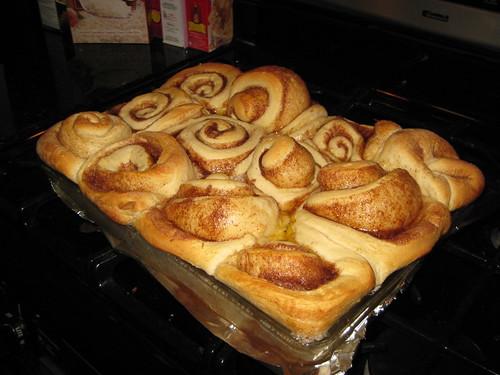 Post baking