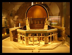 The model of Dome of the Rock