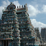 Riotous Hindu Temple Aesthetic: Trichy, India