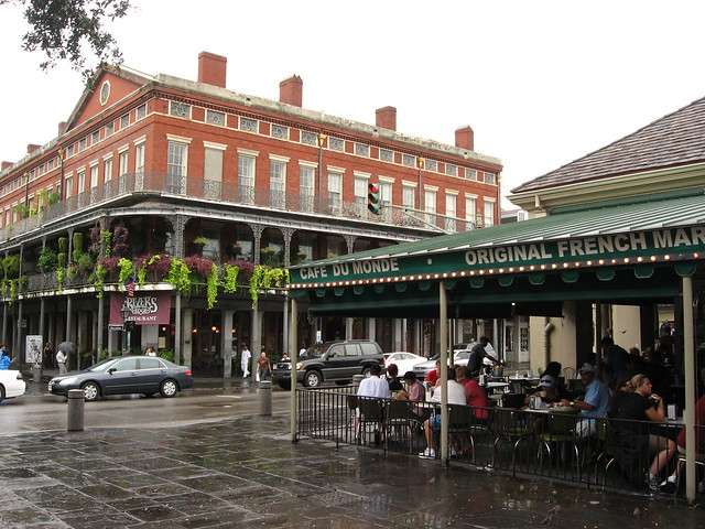 Cafe Du Monde, Decatur Street, French Quarter, New Orleans, Louisiana (2)