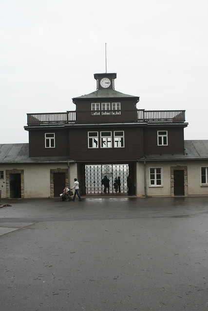Buchenwald main entrance [6/6] | The entrance to the ...